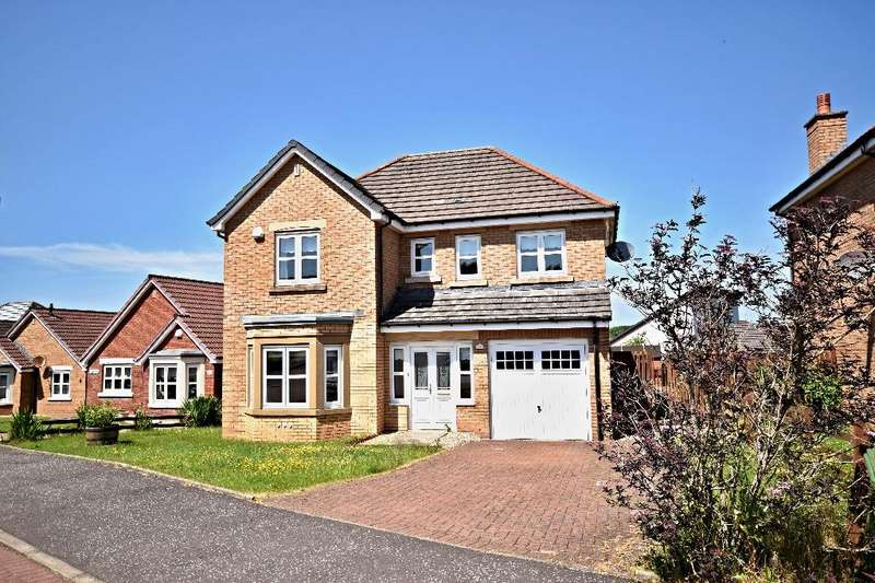 4 Bedrooms Detached House for sale in Highpark Road, Coylton, South Ayrshire, KA6 6QL