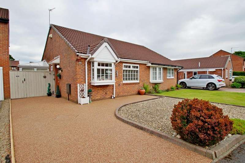 2 Bedrooms Semi Detached Bungalow for sale in Priors Grange, High Pittington