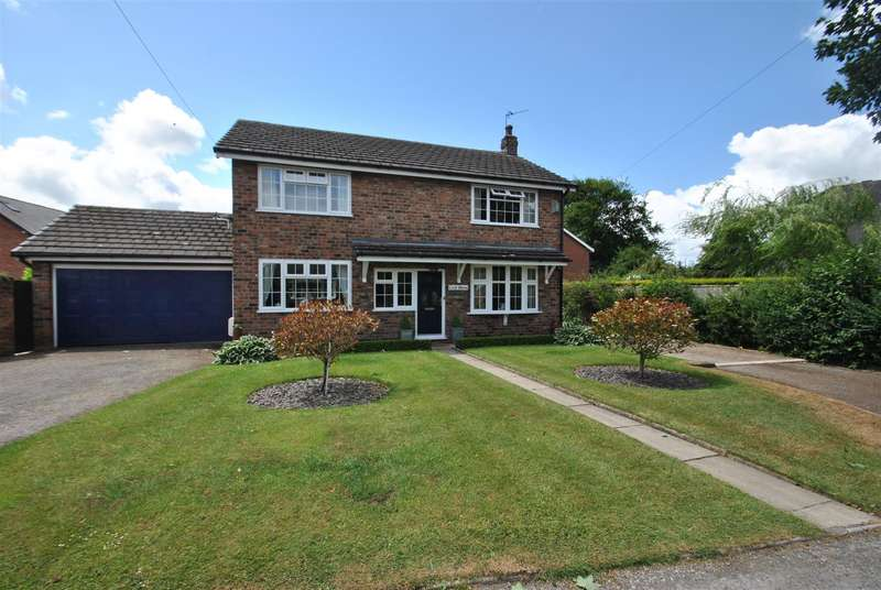 4 Bedrooms Detached House for sale in Gosling Close, HATTON, Warrington, WA4