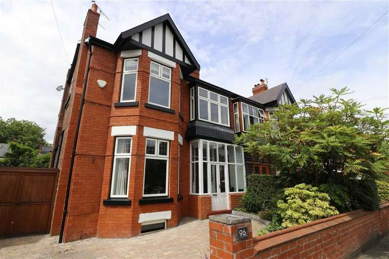 5 Bedrooms Semi Detached House for sale in St Werburghs Road, Chorlton, Manchester, M21