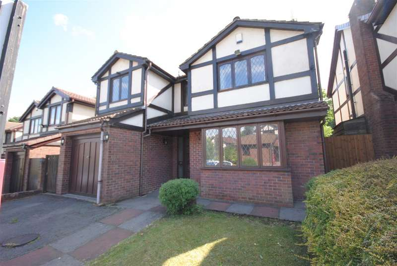 4 Bedrooms Detached House for sale in Satinwood Close, Ashton-in-Makerfield, Wigan