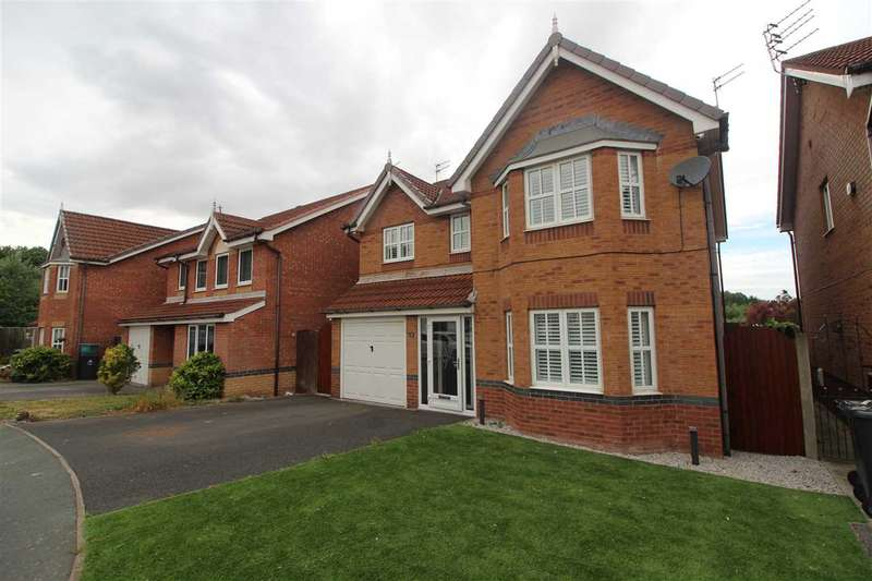 4 Bedrooms Detached House for sale in Wordsworth Court, Kirkby