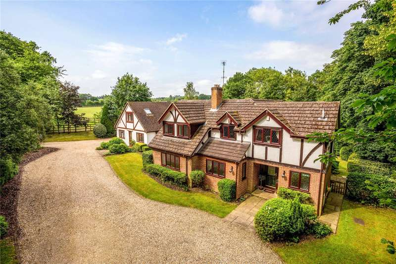 5 Bedrooms Property for sale in Hatch Lane Kiff Green, Woolhampton, Reading, Berkshire