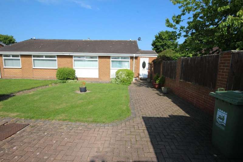 2 Bedrooms Semi Detached Bungalow for sale in Throston Close, Throston Grange, Hartlepool