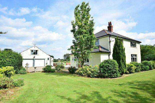 4 Bedrooms Detached House for sale in Pear Tree Lane, Fulstow, LOUTH