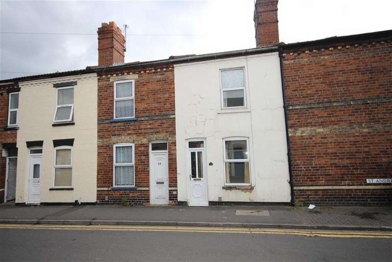 2 Bedrooms Terraced House for sale in St Andrews Street, Lincoln, Lincolnshire