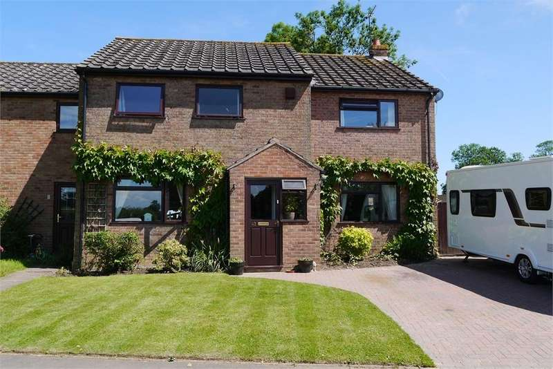 4 Bedrooms Semi Detached House for sale in Hall Lane, Walton, Lutterworth, Leicestershire