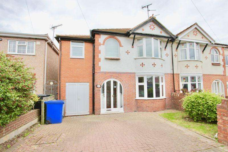 4 Bedrooms Semi Detached House for sale in Roundwood Avenue, Prestatyn