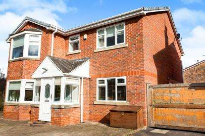 4 Bedrooms Detached House for sale in Cardigan Close, Callands, Warrington, Cheshire, WA5