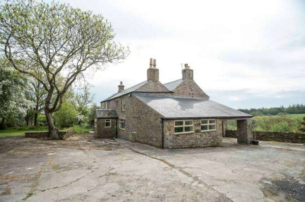 4 Bedrooms Farm House Character Property for sale in East Steel Farm, Whitfield, Hexham, NE47 8JP