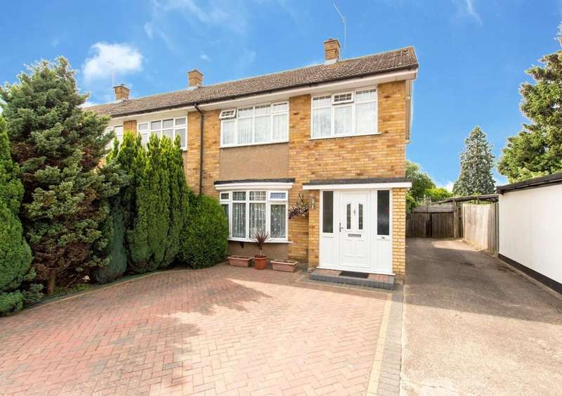 3 Bedrooms End Of Terrace House for sale in Leaford Crescent, North Watford