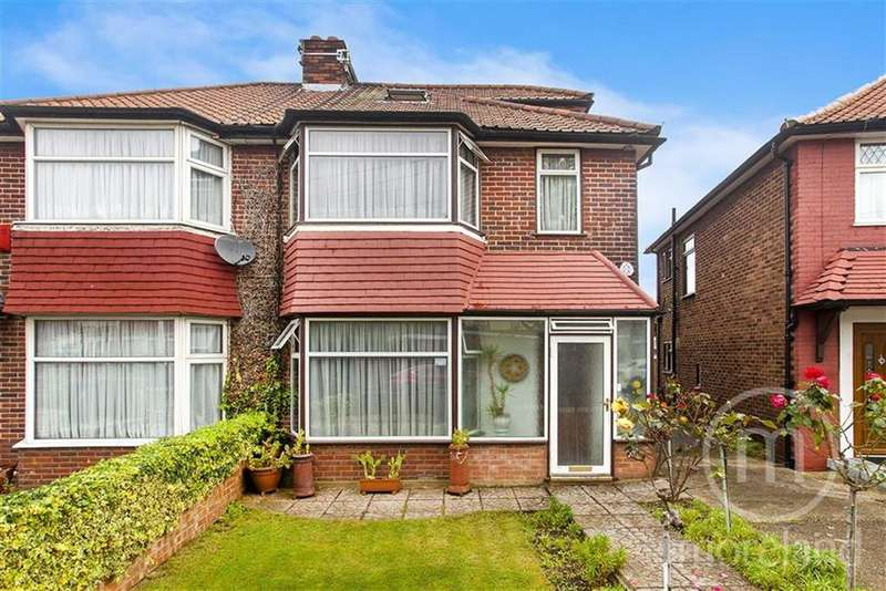 4 Bedrooms Semi Detached House for sale in Cleveland Gardens, Golders Green Estate, NW2
