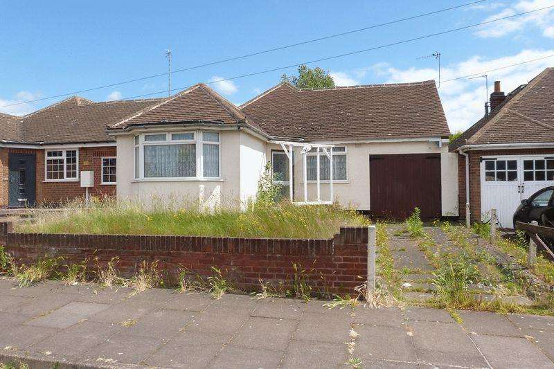 2 Bedrooms Detached Bungalow for sale in Verdale Avenue, Leicester