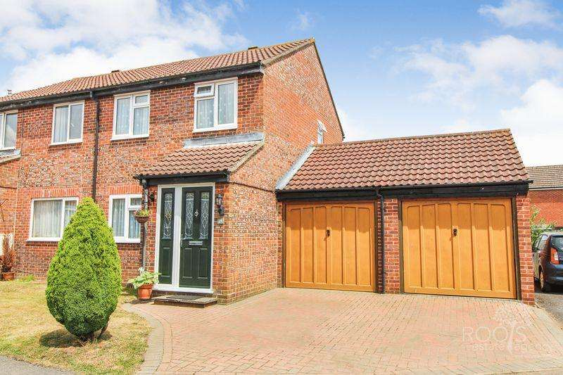 2 Bedrooms Semi Detached House for sale in Glaisdale, Thatcham
