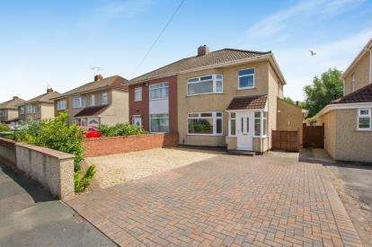 3 Bedrooms Semi Detached House for sale in Bush Avenue, Little Stoke, Bristol, Gloucestershire