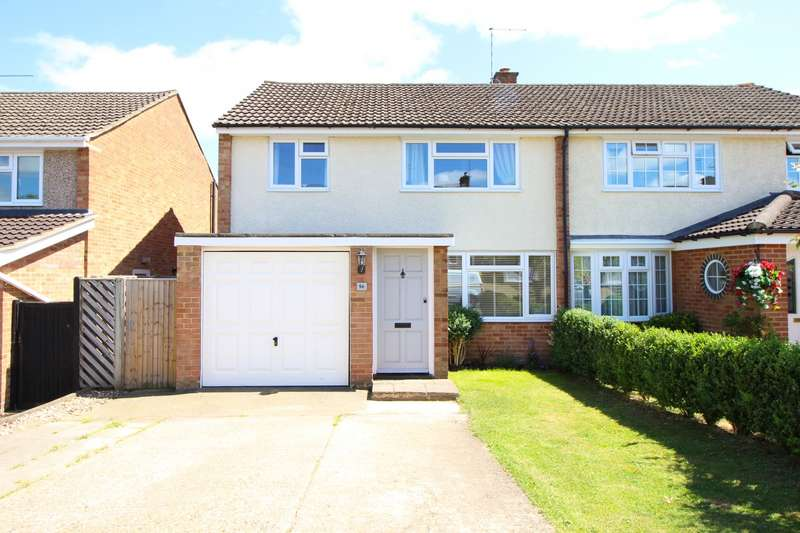 3 Bedrooms Semi Detached House for sale in Churchill Crescent, Sonning Common, RG4