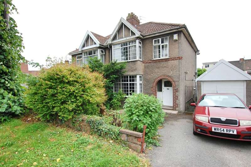 3 Bedrooms Semi Detached House for sale in Ingleside Road, Kingswood, Bristol, BS15