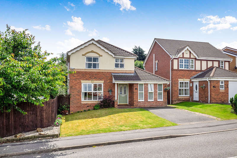 4 Bedrooms Detached House for sale in Brookfield Way, Heanor, DE75