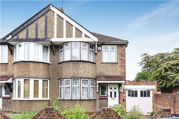 3 Bedrooms End Of Terrace House for sale in Homefield Gardens, MITCHAM, Surrey, CR4