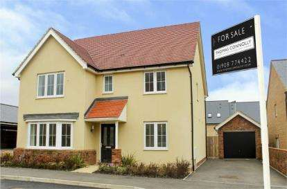 4 Bedrooms Detached House for sale in Hereford Way, Whitehouse Park, Milton Keynes, Buckinghamshire