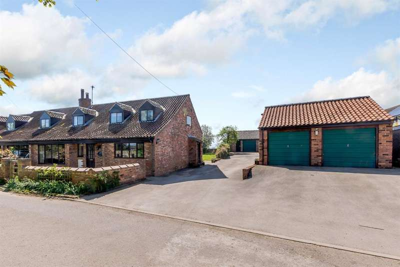 4 Bedrooms Semi Detached House for sale in Moor Lane, Catterton, Tadcaster, LS24 8DH
