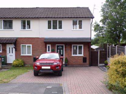 3 Bedrooms End Of Terrace House for sale in Haycock Close, Stalybridge, Greater Manchester, United Kingdom