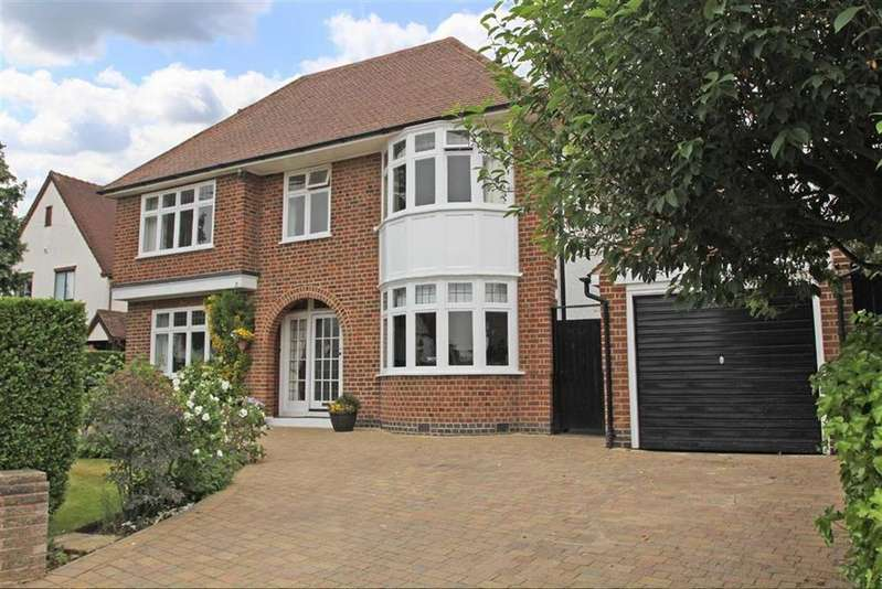 4 Bedrooms Detached House for sale in Carisbrooke Road, South Knighton, Leicester