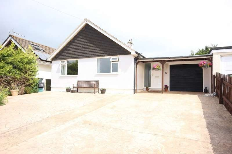 2 Bedrooms Detached Bungalow for sale in The Roundway, Newton Abbot