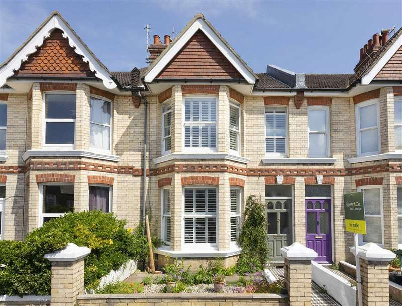 3 Bedrooms Terraced House for sale in Worcester Villas, Hove