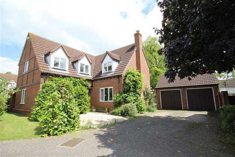 4 Bedrooms Detached House for sale in Walton Gardens, Newtown, Tewkesbury, Gloucestershire