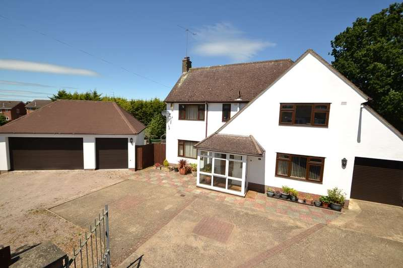 4 Bedrooms Detached House for sale in Gillsway, Kingsthorpe, Northampton, NN2