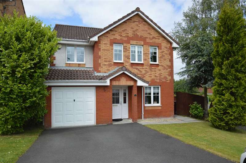 4 Bedrooms Detached House for sale in Beauly Crescent, Wishaw