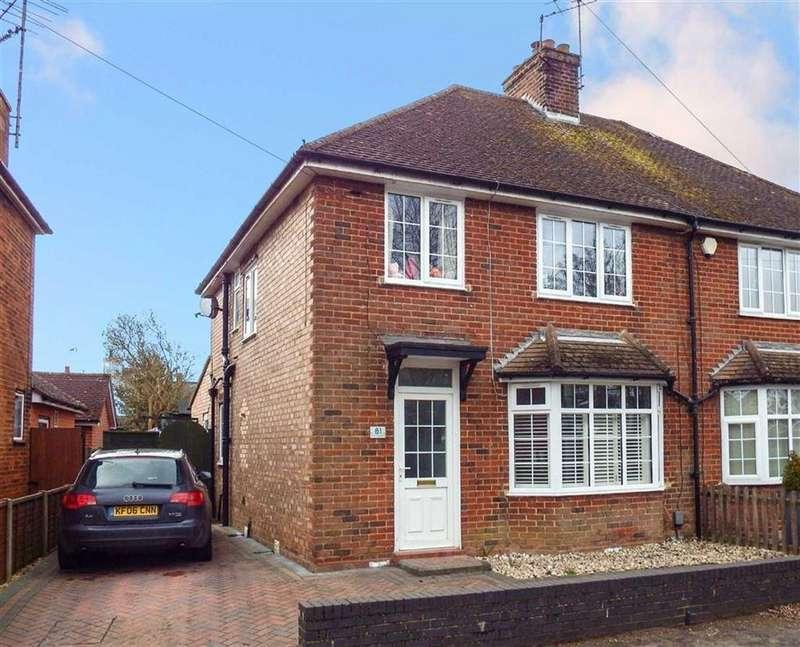 3 Bedrooms Semi Detached House for sale in Fishers Green Road, Stevenage, Hertfordshire, SG1