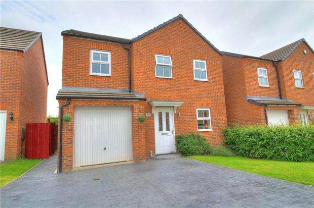 4 Bedrooms Detached House for sale in Lyons Drive, Coventry, West Midlands