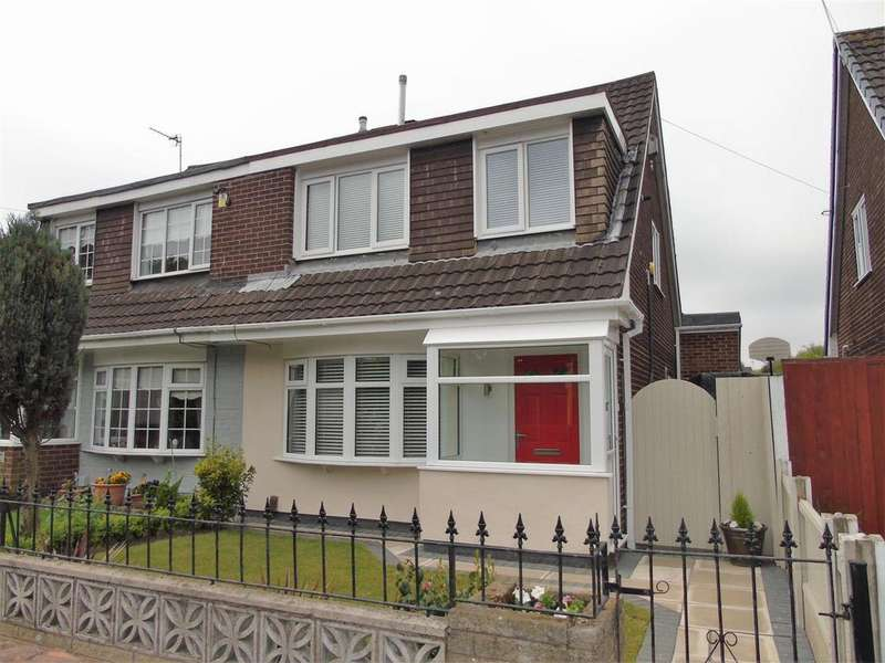 3 Bedrooms Semi Detached House for sale in Lytham Close, Aintree