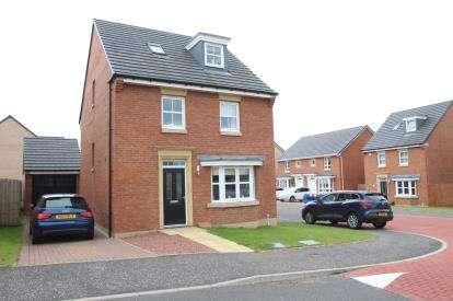 4 Bedrooms Detached House for sale in Gartcolt Place, Coatbridge