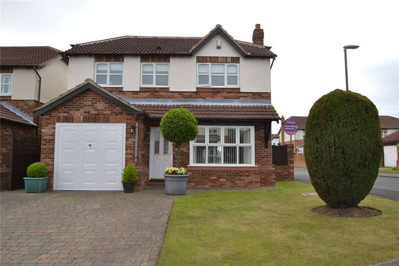 4 Bedrooms Detached House for sale in Goldsborough Court, Wingate, Co. Durham, TS28