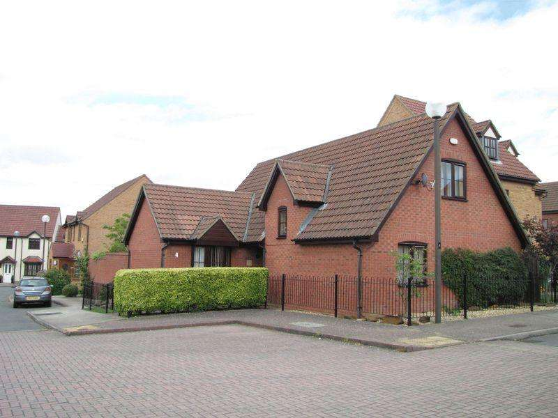 4 Bedrooms Detached House for sale in Abbotsbury, Westcroft, Milton Keynes