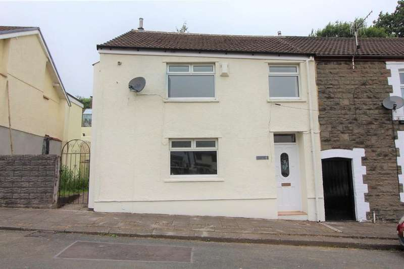 3 Bedrooms End Of Terrace House for sale in Bwllfa Cottages , Gelli