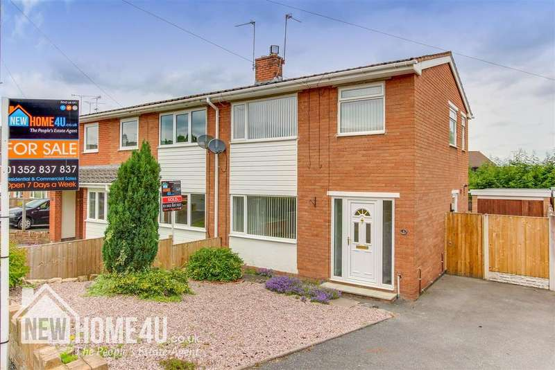 3 Bedrooms Semi Detached House for sale in Nant Derw, Mold