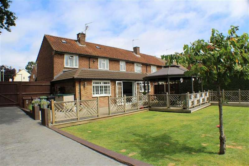 3 Bedrooms End Of Terrace House for sale in Creighton Avenue, St Albans, Hertfordshire