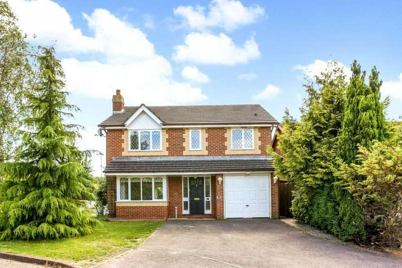4 Bedrooms Detached House for sale in Primrose Gardens, Hatch Warren, Basingstoke, Hampshire, RG22