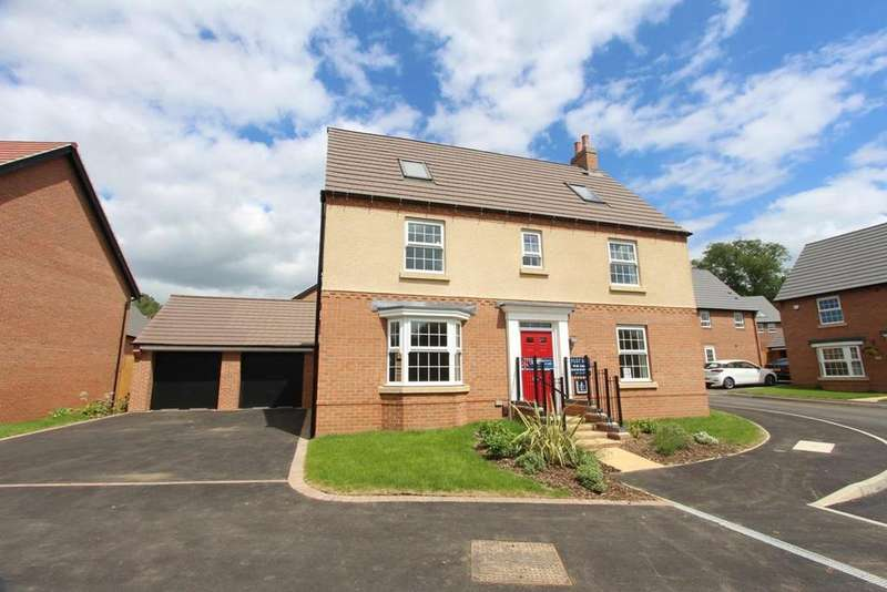 5 Bedrooms Detached House for sale in Welbeck Avenue, Burbage, Hinckley