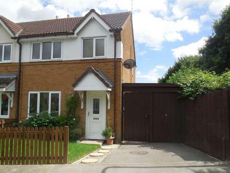 3 Bedrooms Semi Detached House for sale in Romney Close, Hinckley