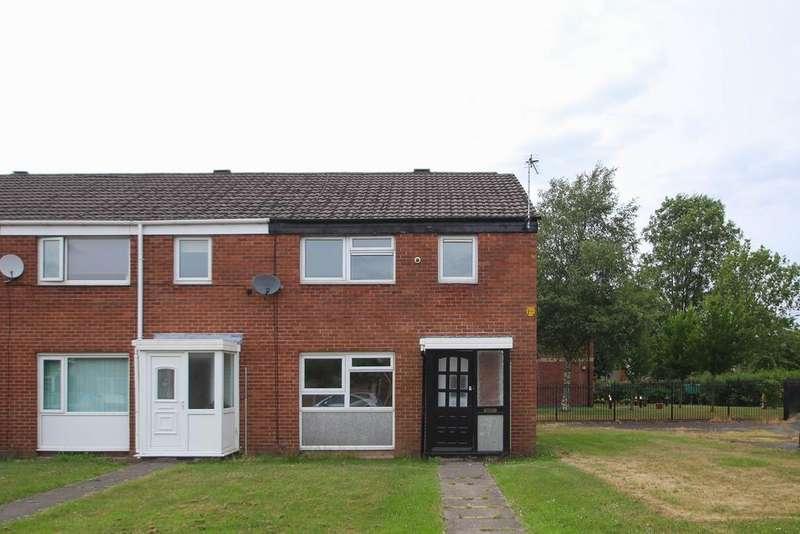 3 Bedrooms End Of Terrace House for sale in Bridge Close, Partington, Manchester, M31
