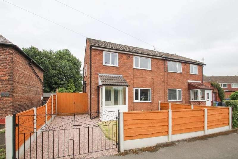 3 Bedrooms Semi Detached House for sale in Warburton Lane, Partington, Manchester, M31