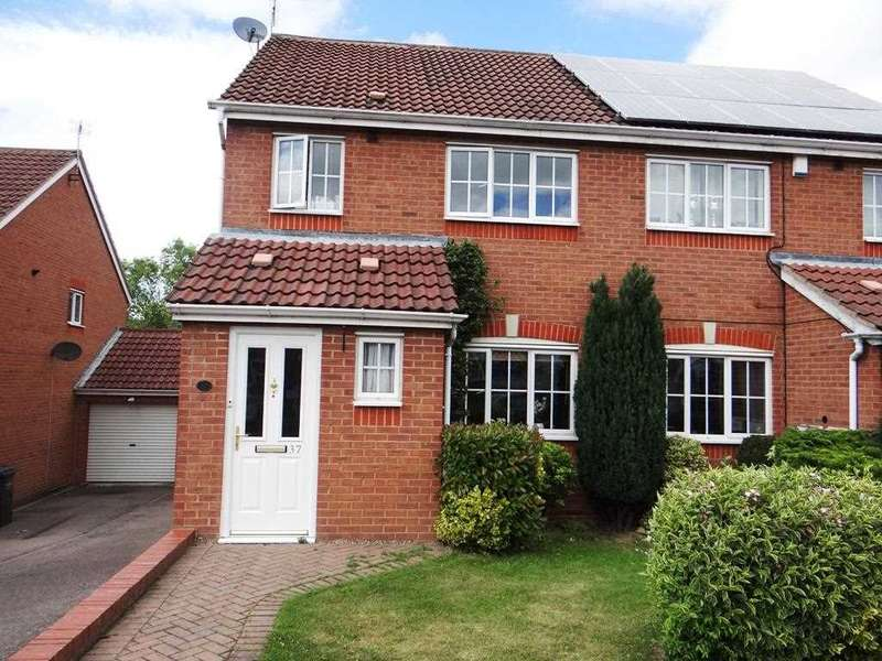 3 Bedrooms Semi Detached House for sale in Oadby Drive, Chesterfield