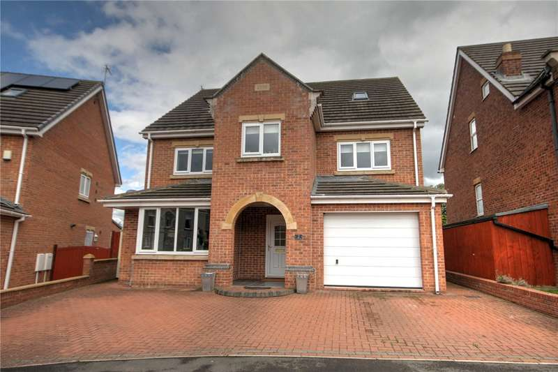 5 Bedrooms Detached House for sale in Station Court, Witton Park, Bishop Auckland, DL14