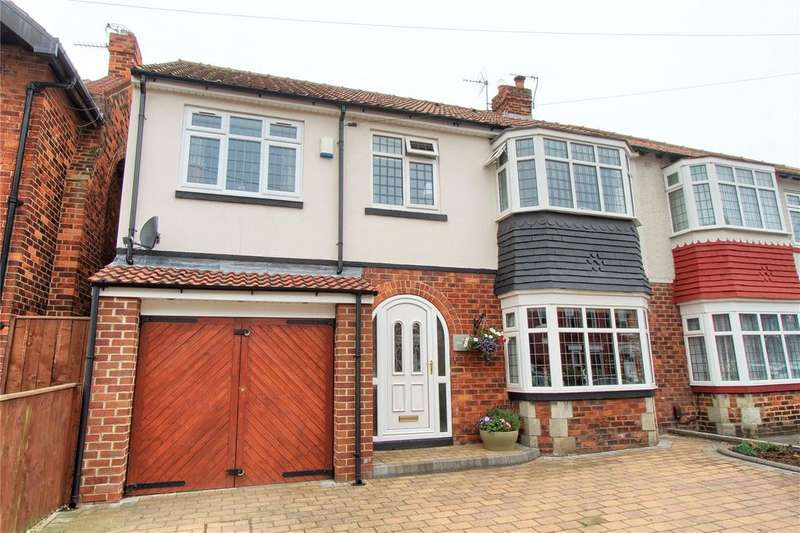 4 Bedrooms Semi Detached House for sale in Queensberry Avenue, Hartlepool