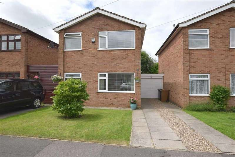 3 Bedrooms Detached House for sale in Azalea Close, Burbage, Leicestershire